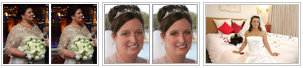 Wedding retouching to enhance your pictures... create special memories...