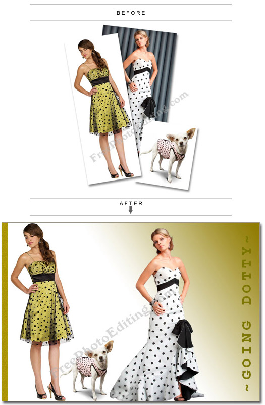 Fashion photo editing services