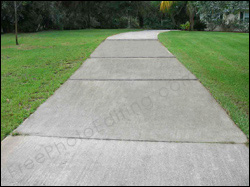 Remove rust stains from cement driveway with photo for Remove stains from concrete driveway