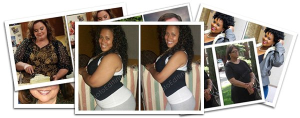 Body slimming photo retouching services, weight loss image