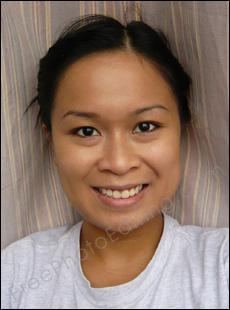 Fashion Retouching Virtual Makeover With Makeup Fashion